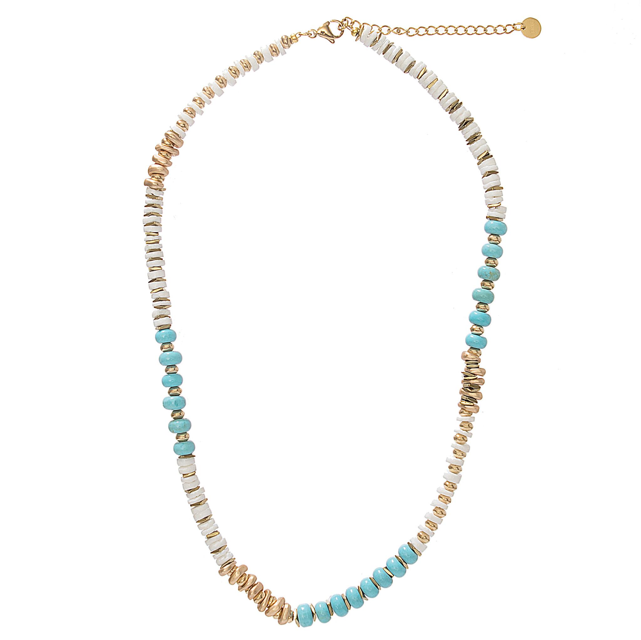Sima Necklace Turquoise