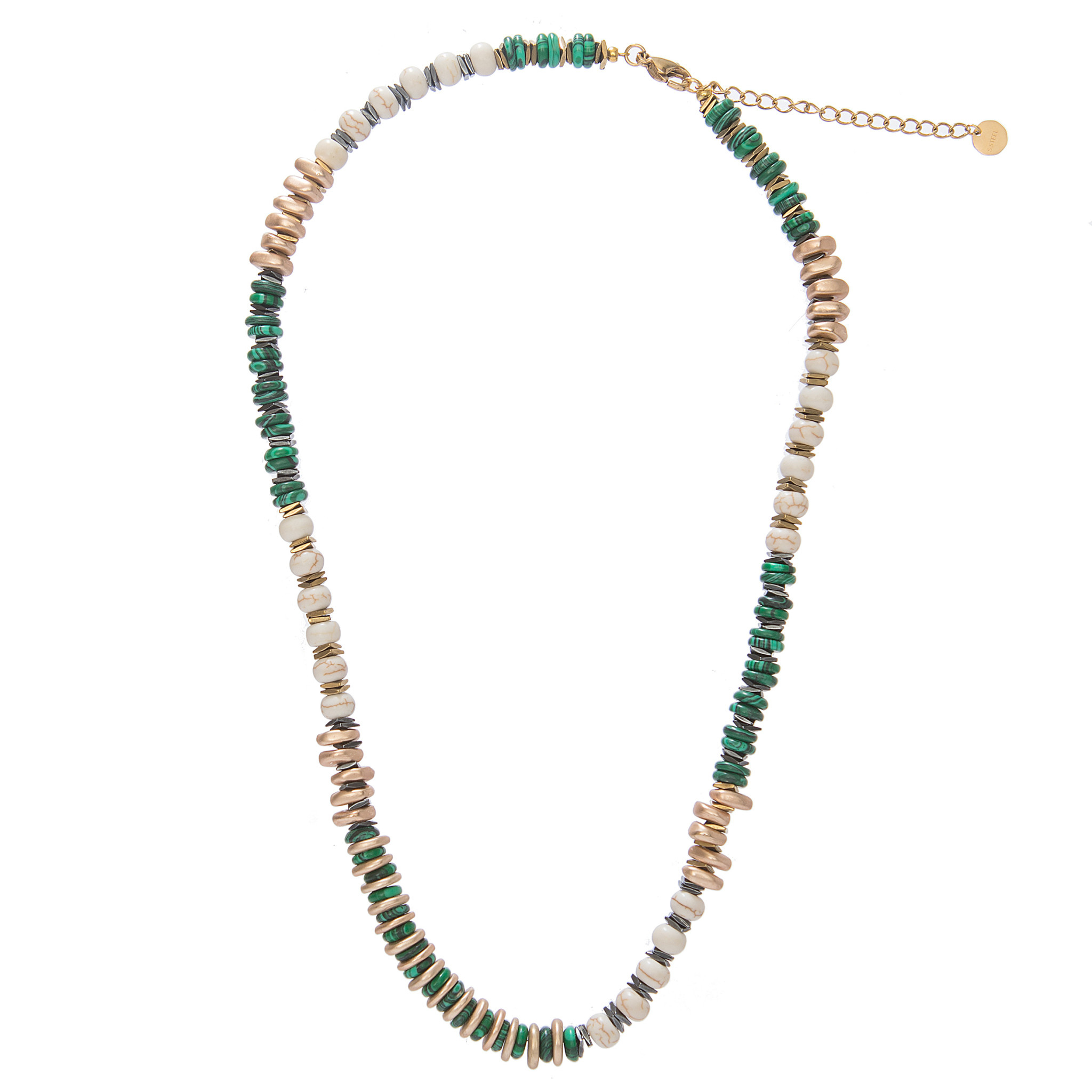 Sima Necklace Green