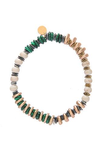 Les Soeurs Sima Bracelet Green