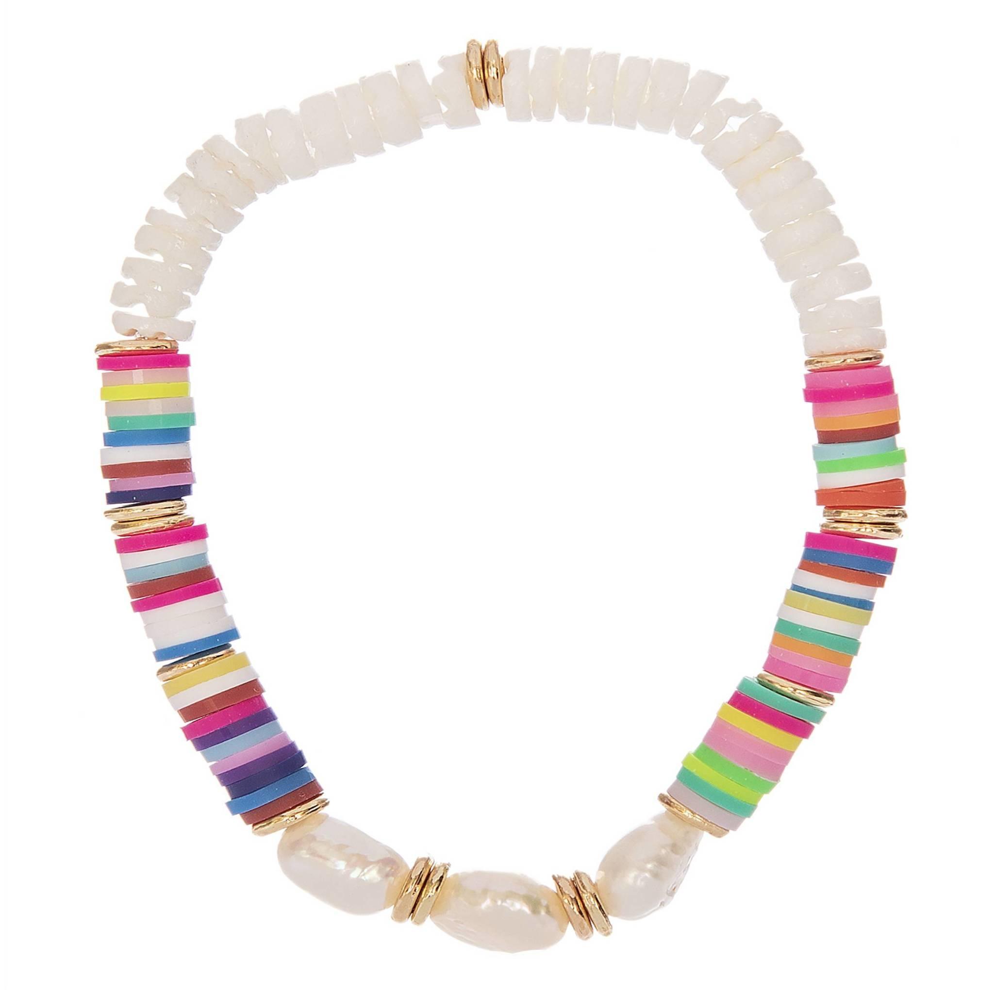 Fleur Multi/White Bracelet