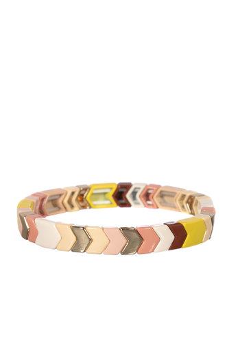 Florine Pink Bracelet