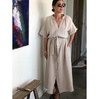 Brigitte Tetra Dress Sand