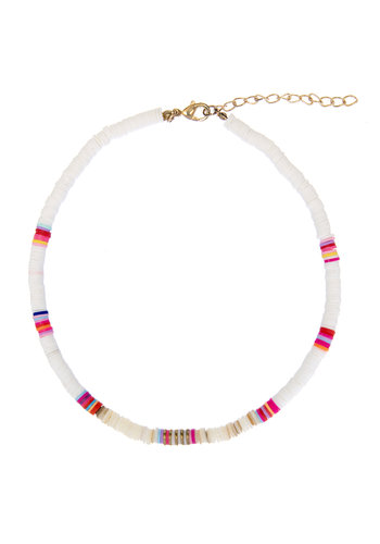 Ruby Surfnecklace White