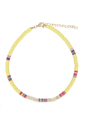 Ruby Surfnecklace Yellow
