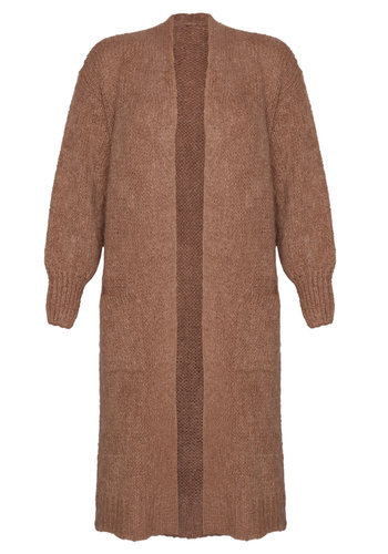Long Cardigan Xtra Camel