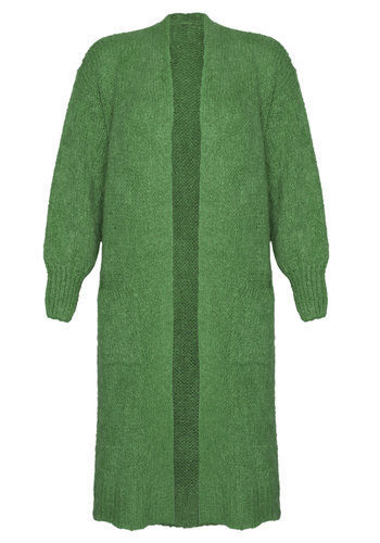 Long Cardigan Xtra Green