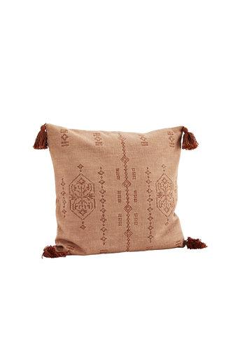 Madam Stoltz Embroidered Cushion