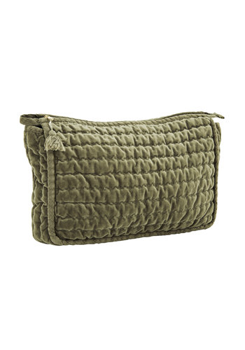 Madam Stoltz Toilet bag Jade Large
