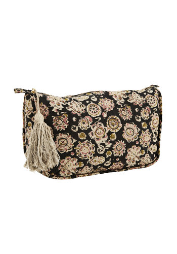 Madam Stoltz Toilet Bag With Tassel Large