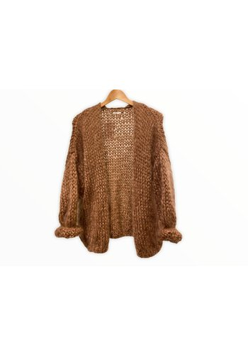 Patch M Knit Cardigan