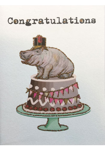 Vanillafly Greeting Card Congratulations