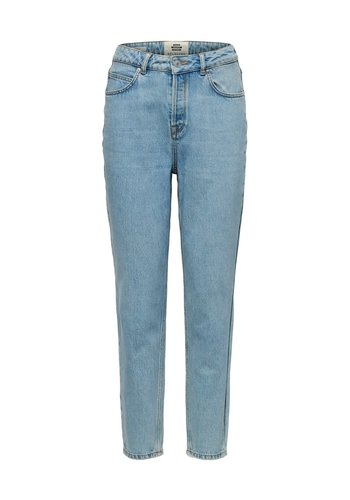 Selected High-waist Mom Jeans Frida Aruba