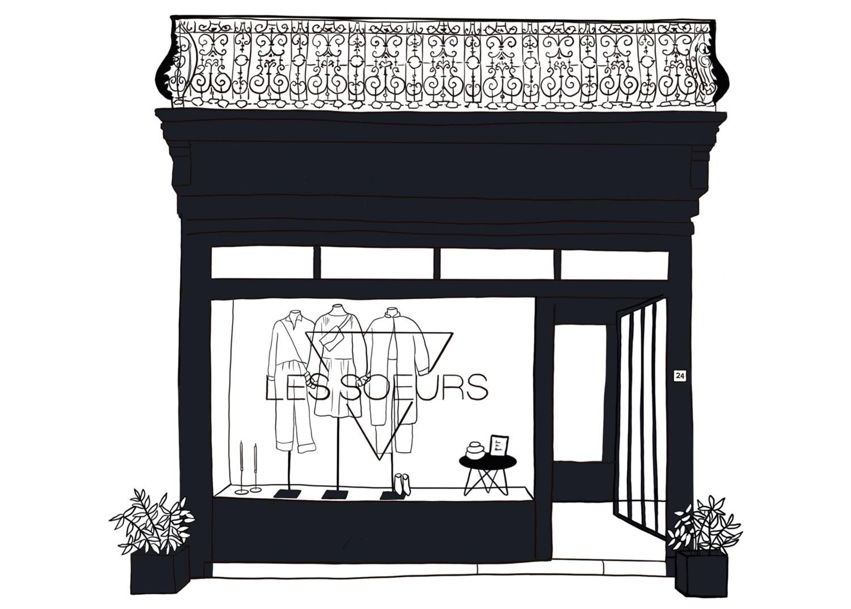 Les Soeurs Store Antwerpen