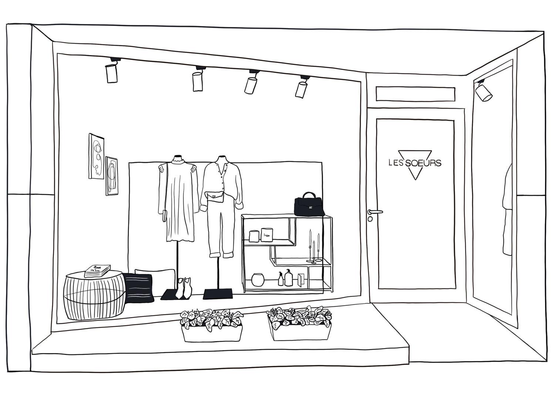 Les Soeurs Store Knokke