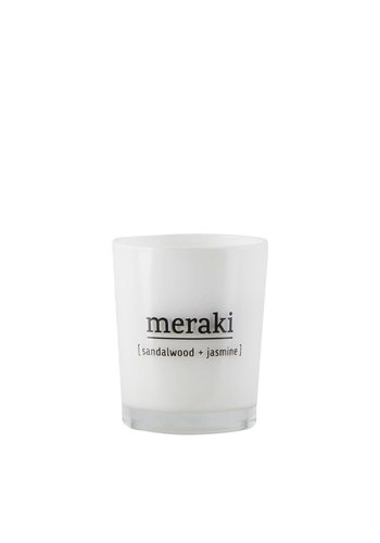 Meraki Small Candle Sandalwood & Yasmine