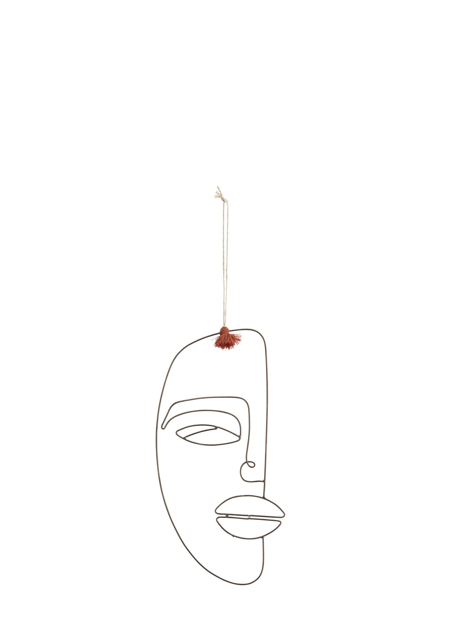 Hanging Iron Face