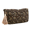 Madam Stoltz Printed Toilet Bag With Tassel