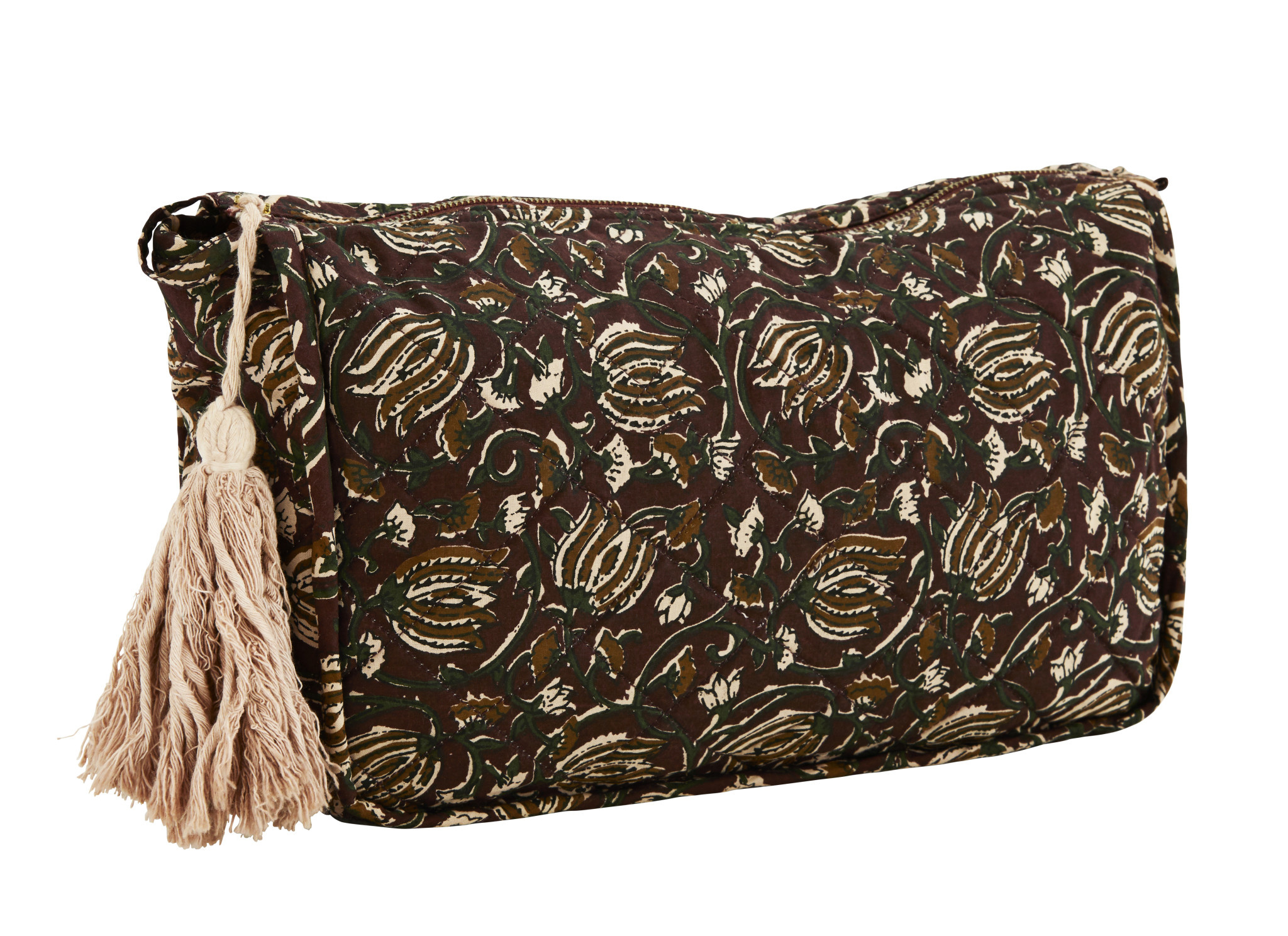 Printed Toilet Bag With Tassel