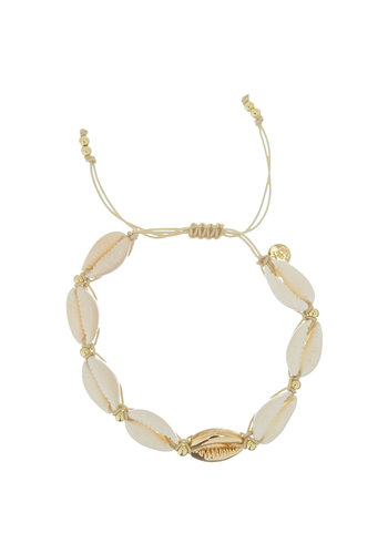 Les Soeurs Bracelet  Hannah Shell
