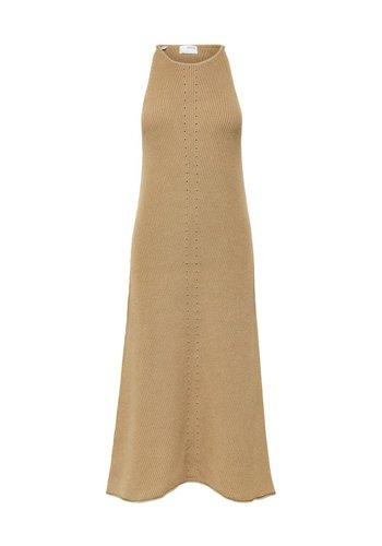 Selected Maxi Knit Dress Maxa