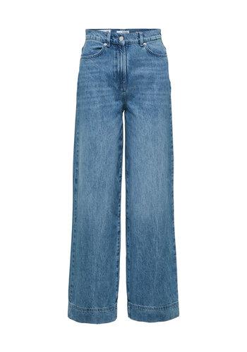 Selected Long Wide Jeans Luna