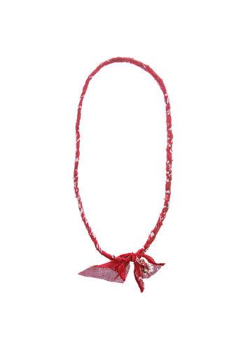 Saturdays Sundays Bandana Necklace