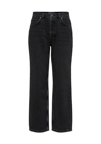 Selected Jeans Kate Straight Slate