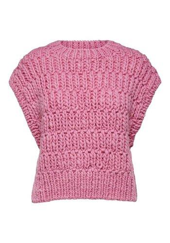 Selected Knit Cardigan Pearl