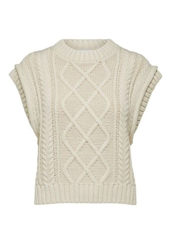 Selected Knit Vest Piper