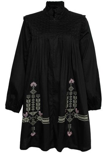 Le Marais Lauren Cotton Embroidered Dress