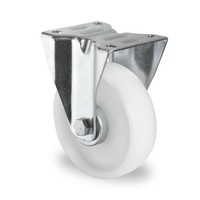 Bokwiel 125mm diameter met rollager - PA