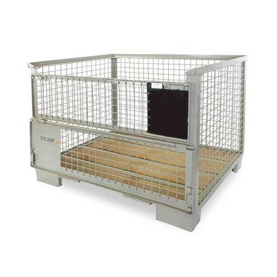 DIN Gitterbox 1240x835x970mm, nieuw - UIC Norm 435-2