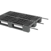 Rotom Racking kunststof pallet 1200x800x150mm - versterkt