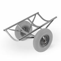Matador M-Tapijtrolwagen CT hamerslag grijs