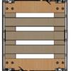 Rotom Gebruikte rolcontainer 800x680x1670mm - houten rolbodem