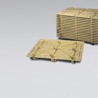 Houtvezel pallet 1200x1000x135mm - F10/S