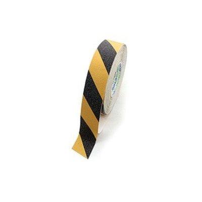 Anti-slip tape 18m - geel/zwart