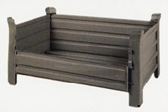 Stapelbakken staal