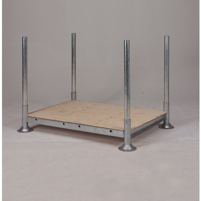 Multiplex plaat 1400x1010x12mm - enkel mobilrack