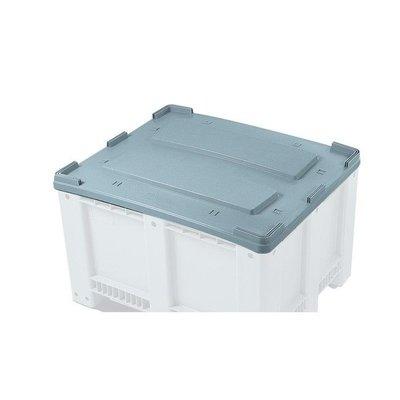 Gebruikte kunststof deksel 1210x1010x40mm - voor palletbox