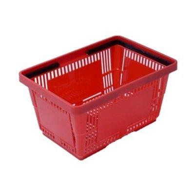 Winkelmand 485x330x250mm - 34 liter rood
