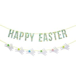 Meri Meri Liberty Betsy green Easter garland