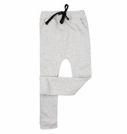 CarlijnQ sweatpants grey melange & silver lurex
