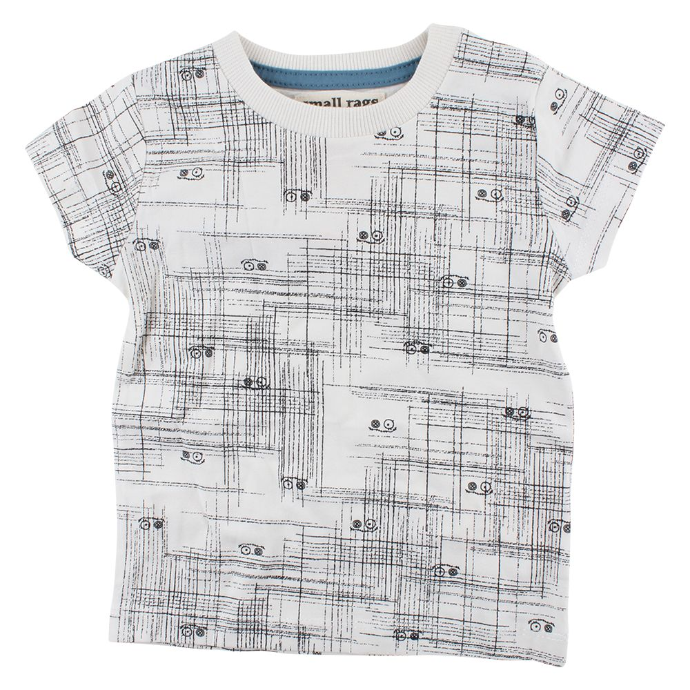 Small Rags Gary SS T-Shirt | Vaporous Gray