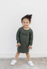 nOeser Paula dress believe dark green