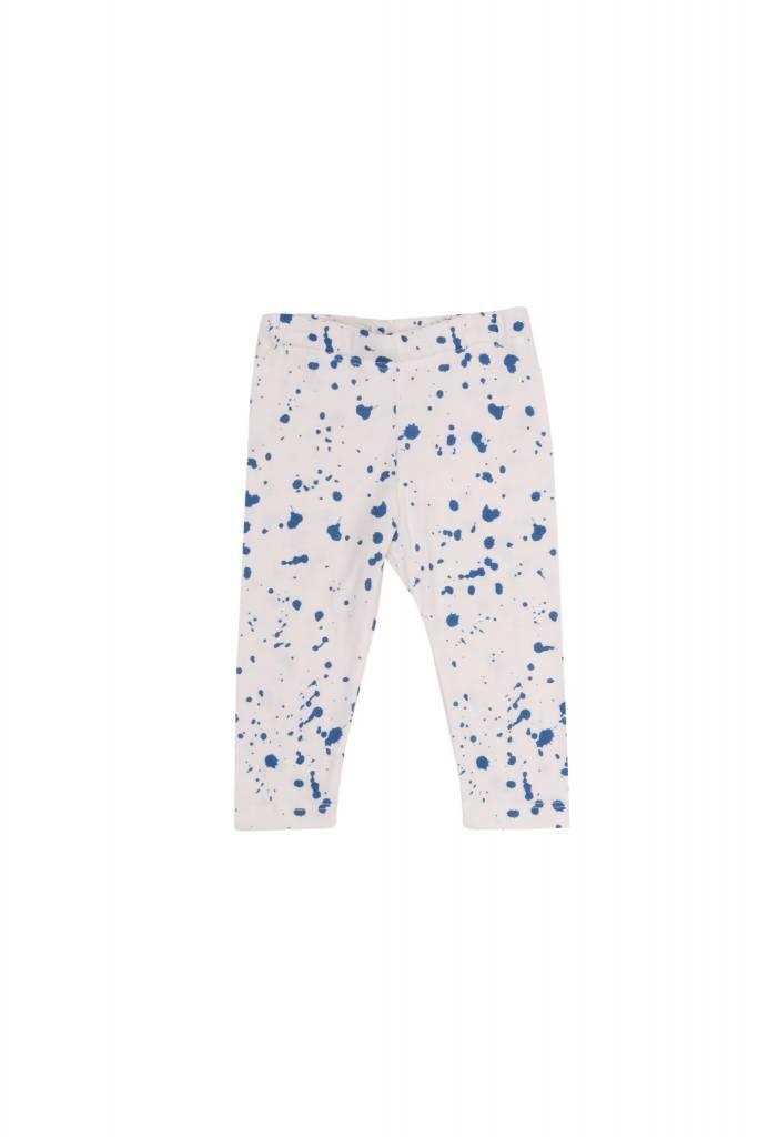 One we Like Baby leggings splash white
