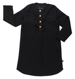 CarlijnQ Black denim tunic dress