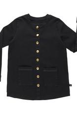 CarlijnQ Black denim shirt