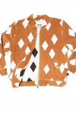 CarlijnQ Diamands ochre bomber jacket