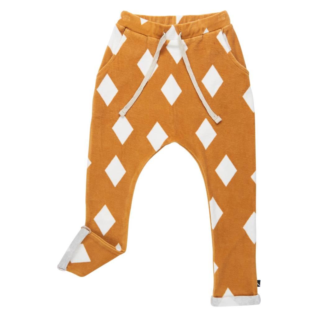 CarlijnQ Diamands ochre pockets sweatpants